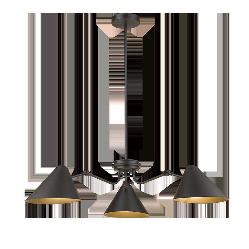 HMLP-0131  E27 3LT industrial pendnat light