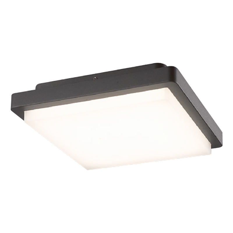 HMLO-0151 OUTDOOR 14W LED CEILING LIGHT--SQUARE SHAPE